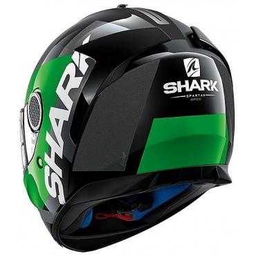 SHARK SPARTAN APICS NOIR/VERT